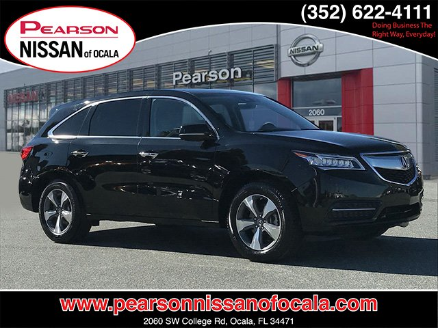Pre-Owned 2016 Acura MDX 4DR FWD