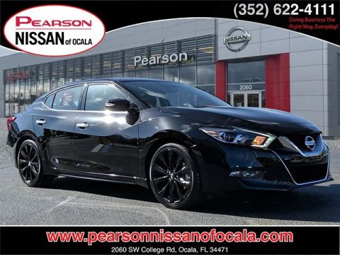 Certified Pre-Owned 2017 NISSAN MAXIMA SR With Navigation