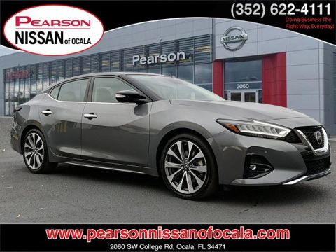 Pre-Owned 2019 NISSAN MAXIMA PLATINUM With Navigation