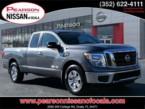 Certified Pre-Owned 2017 NISSAN TITAN SV RWD 2WD KING CAB SV