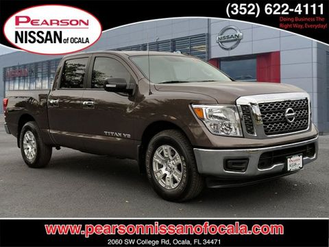 Certified Pre-Owned 2018 NISSAN TITAN SV RWD 2WD CREW CAB SV