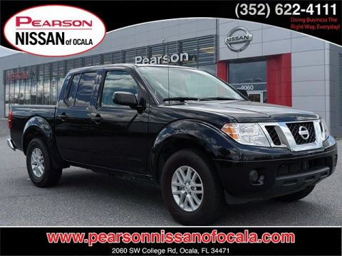 Certified Pre-Owned 2019 NISSAN FRONTIER SV RWD 2WD CREW SV AT