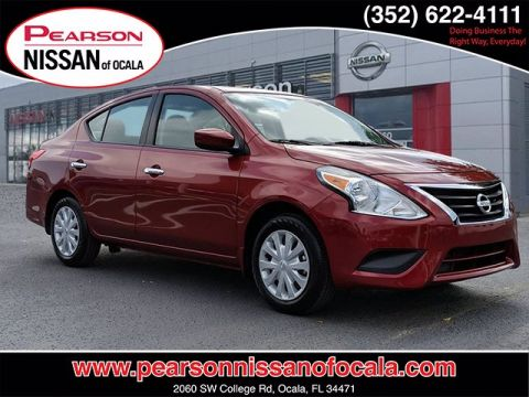 Certified Pre-Owned 2019 NISSAN VERSA SEDAN SV FWD 4DR SDN CVT