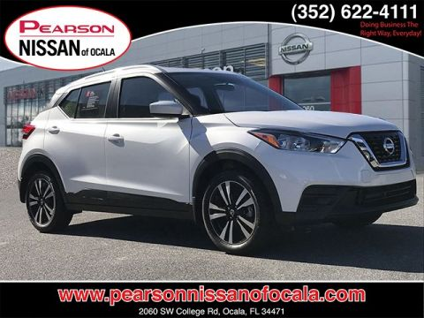 Certified Pre-Owned 2018 NISSAN KICKS SV FWD 4DR SV FWD