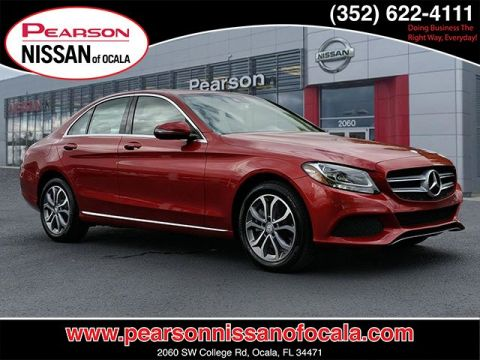 Pre-Owned 2016 MERCEDES-BENZ C-CLASS 4DR SDN C300 4MAT