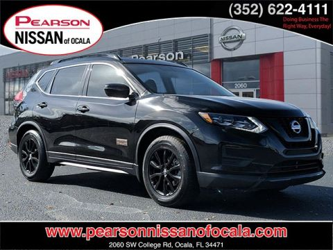 Pre-Owned 2017 NISSAN ROGUE SV FWD 4DR SUV FWD SV