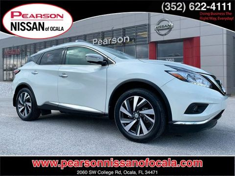 Certified Pre-Owned 2015 NISSAN MURANO PLATINUM With Navigation