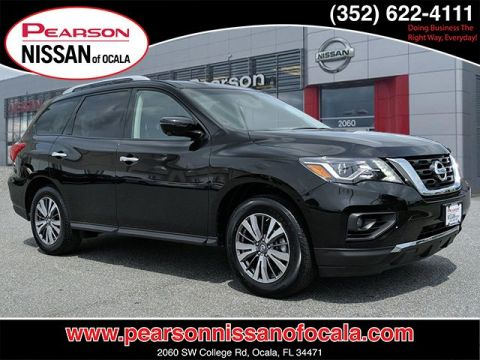 Certified Pre-Owned 2018 NISSAN PATHFINDER SL With Navigation & 4WD
