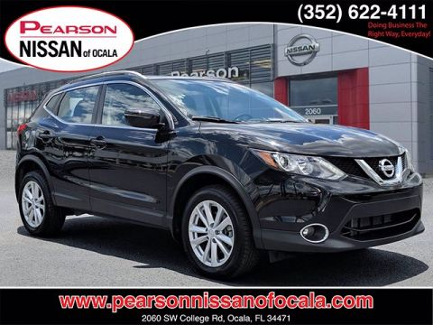 Certified Pre-Owned 2017 NISSAN ROGUE SPORT SV FWD 4DR SUV FWD SV