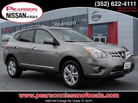 Pre-Owned 2013 NISSAN ROGUE SV With Navigation