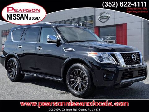 Certified Pre-Owned 2019 NISSAN ARMADA PLATINUM With Navigation